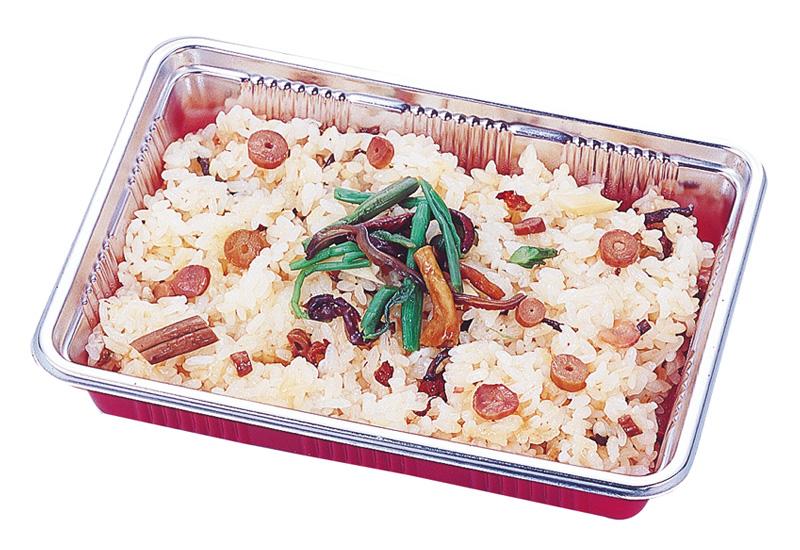 山菜おこわ 山菜の具をふんだんに使用しています。納得の味です。
