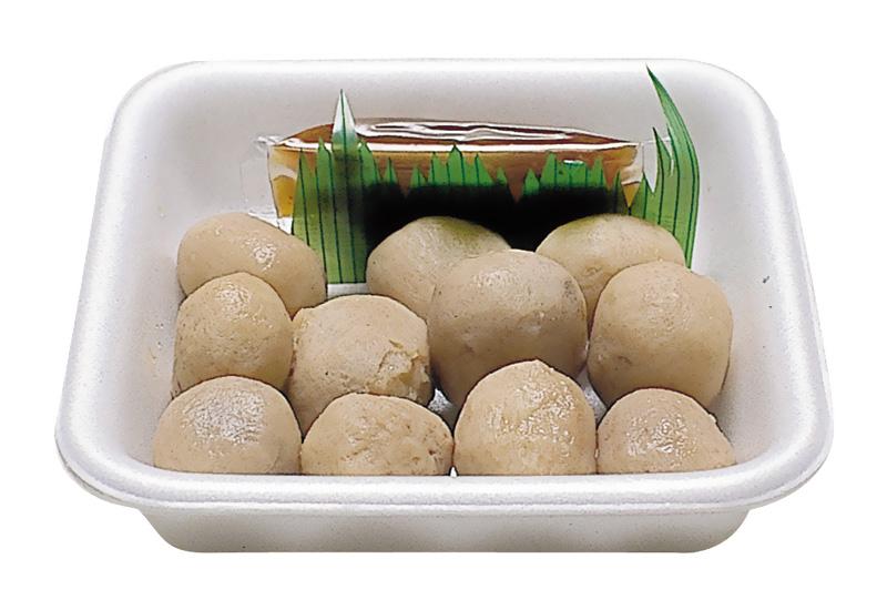 さといも田楽 季節商品(秋~春)地元里いもの田楽です。添付の味噌を付けてお召し上がりください。