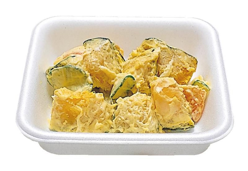 パンプキンサラダ 独自のマヨネーズであえております。