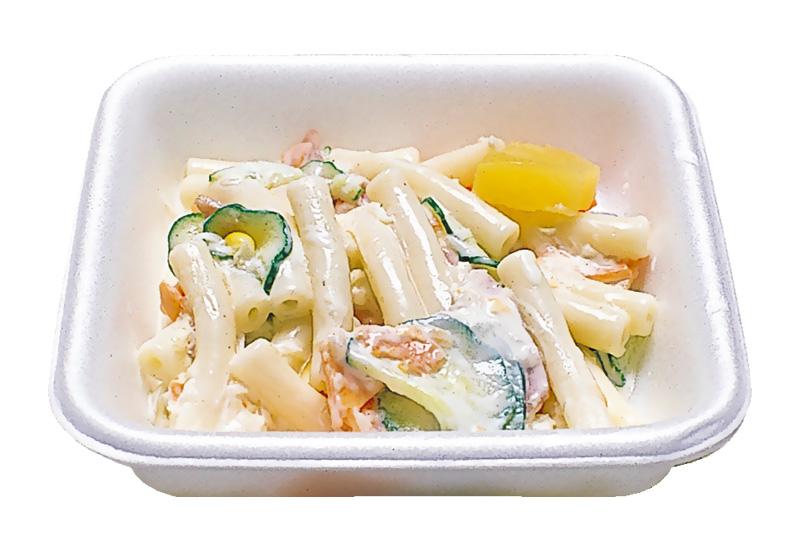 マカロニサラダ マカロニ主体に野菜類をマヨネーズで和えてあります。
